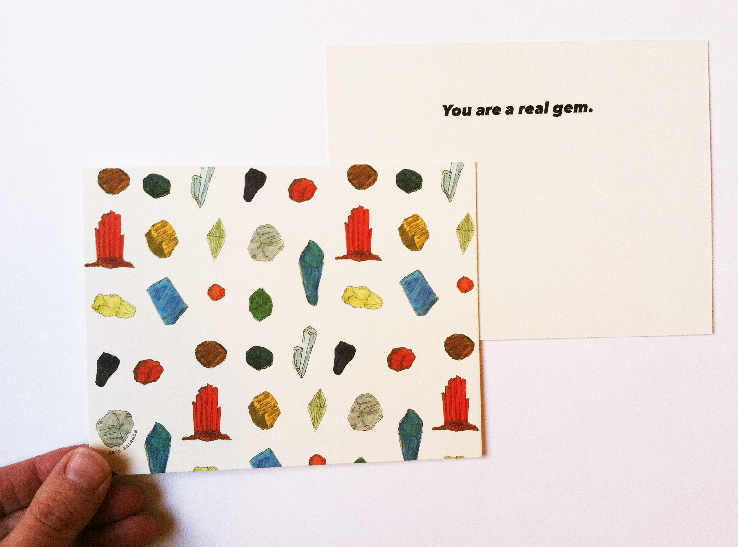 You Are A Real Gem. Card