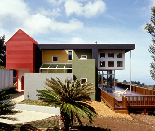 Ettore Sottsass, Casa Olabuenaga in Maui, Hawaii  Image via Design Milk