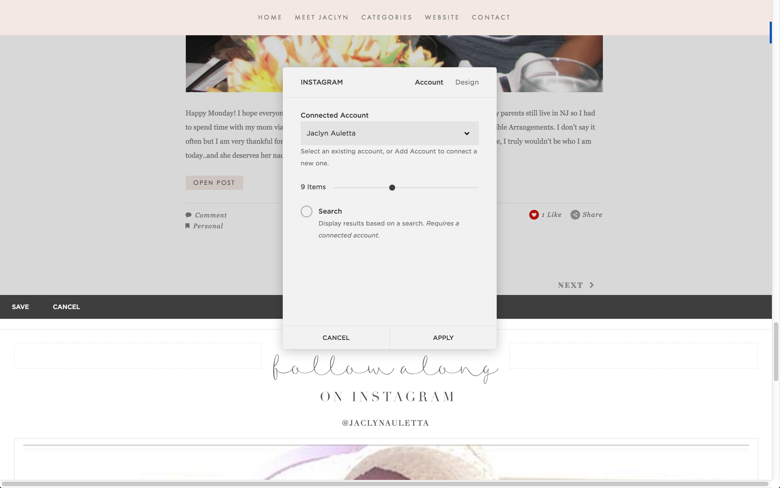 How To Add Your Instagram Feed To Squarespace