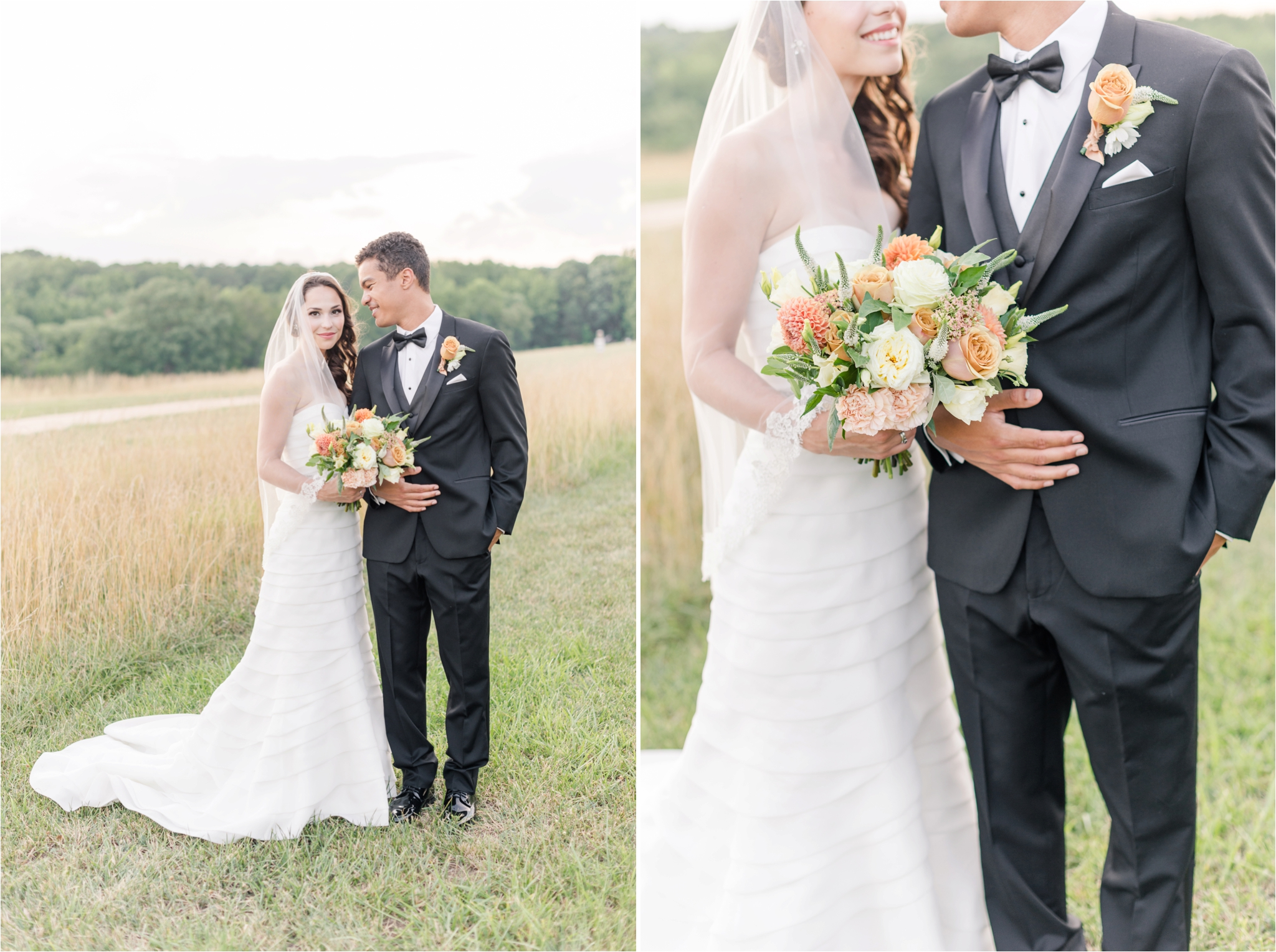 Classic Bride And Groom Portraits Raleigh North Carolina Wedding Photographer Jaclyn Auletta Photography