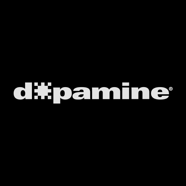 Dopamine   With a clear view for the future of content. Dopamine is a new Premium Content Production House by TV Azteca one of the biggest broadcasters in México.  Rebrand. TV and broadcast. 2017 ©GrupoSalinas