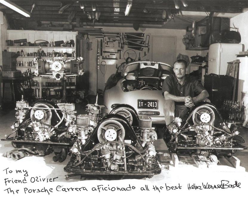 Photo courtesy of Porsche 356 Club de France