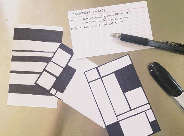 If babies like checker board patterns they should totally get off on Mondrian, right? Right?!?!!! (sigh)