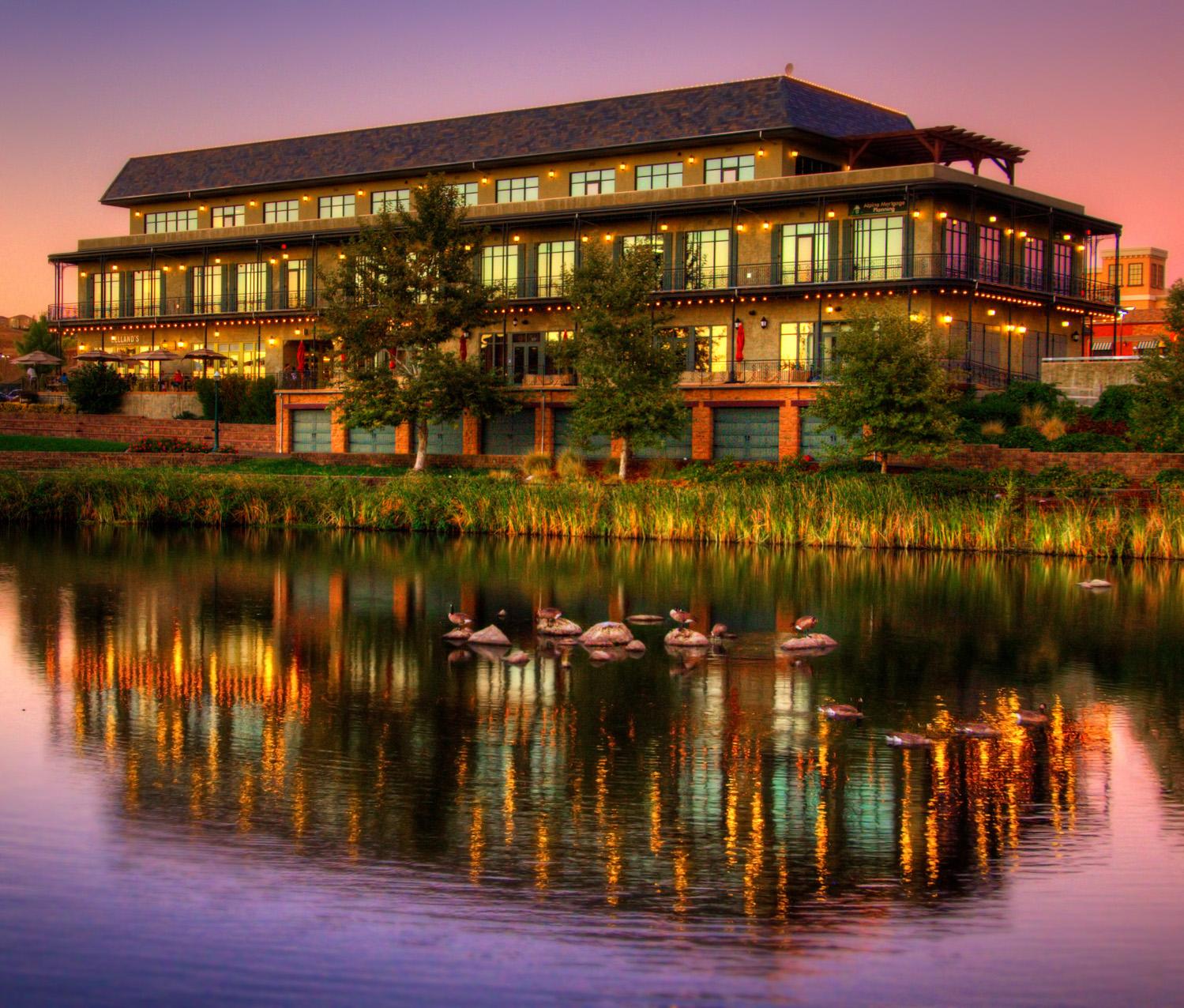 Sacramento Architectural Photography-El Dorado Hills Town Center
