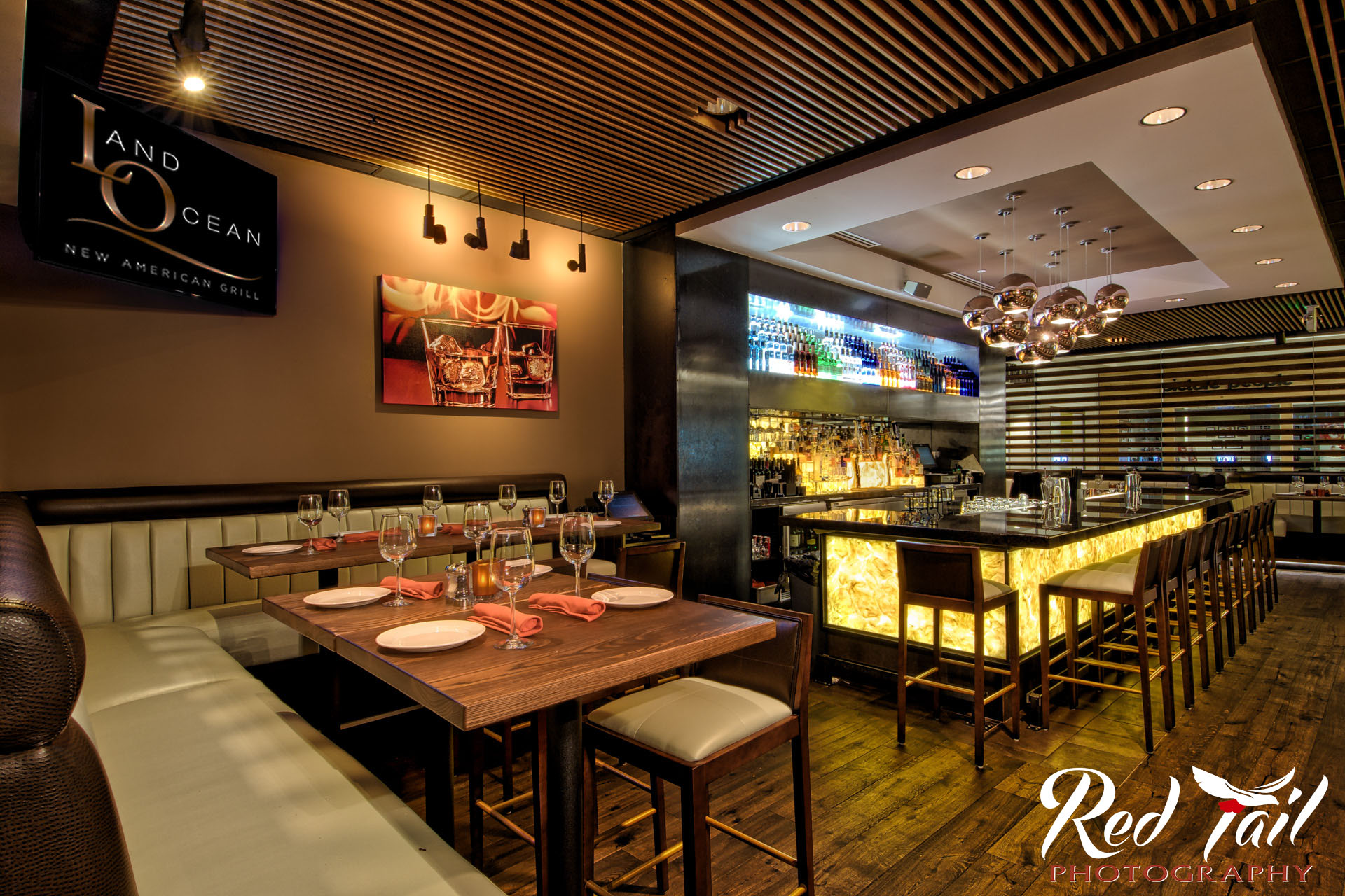 Commercial Interior Photography/Land Ocean Restaurant