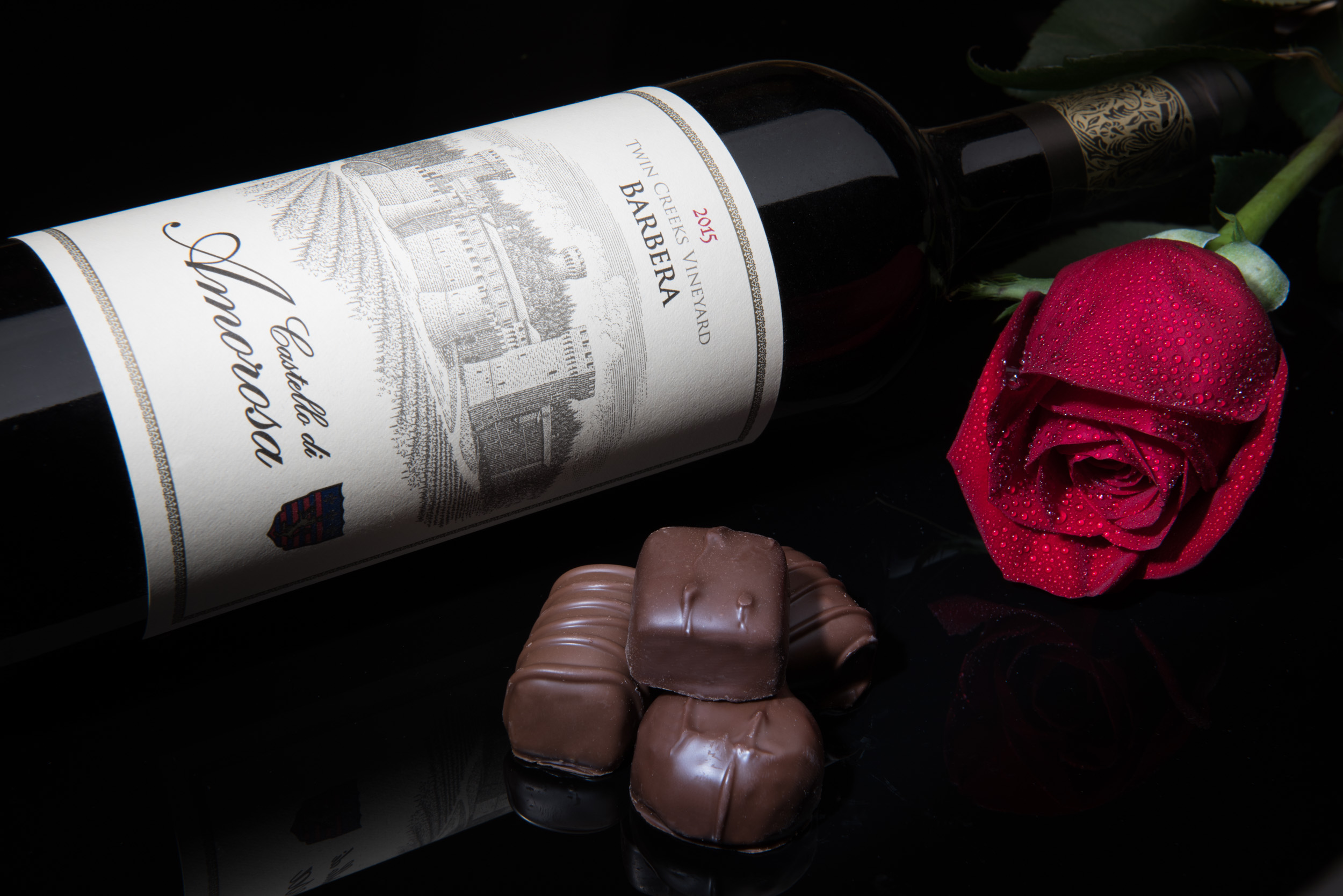 Castello De Amorosa - Wine Photography