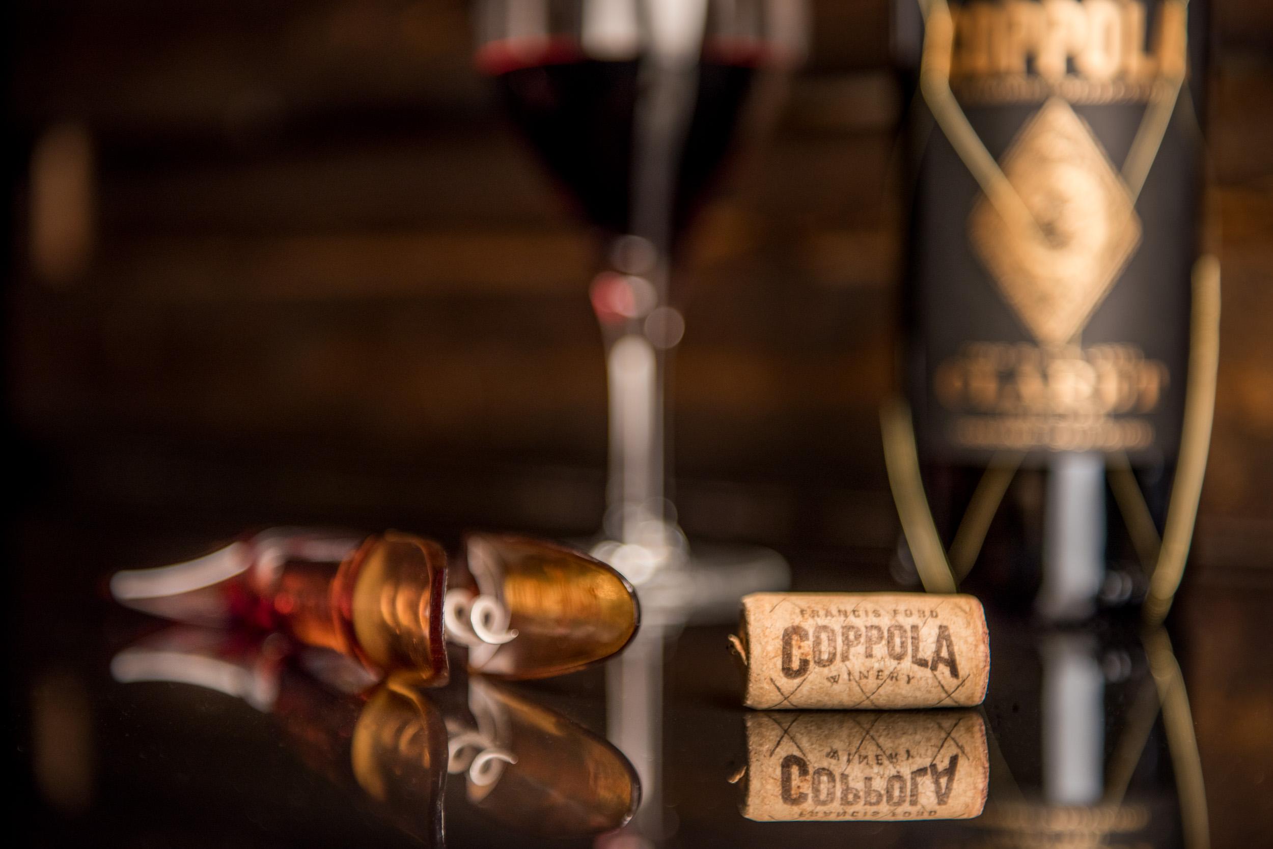 Coppola Winery - Napa Wine Photography