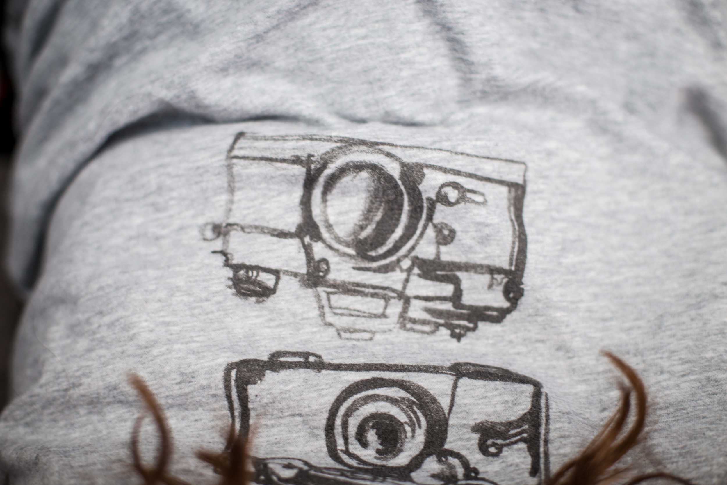 93 // 366 New shirt/cameras are my life
