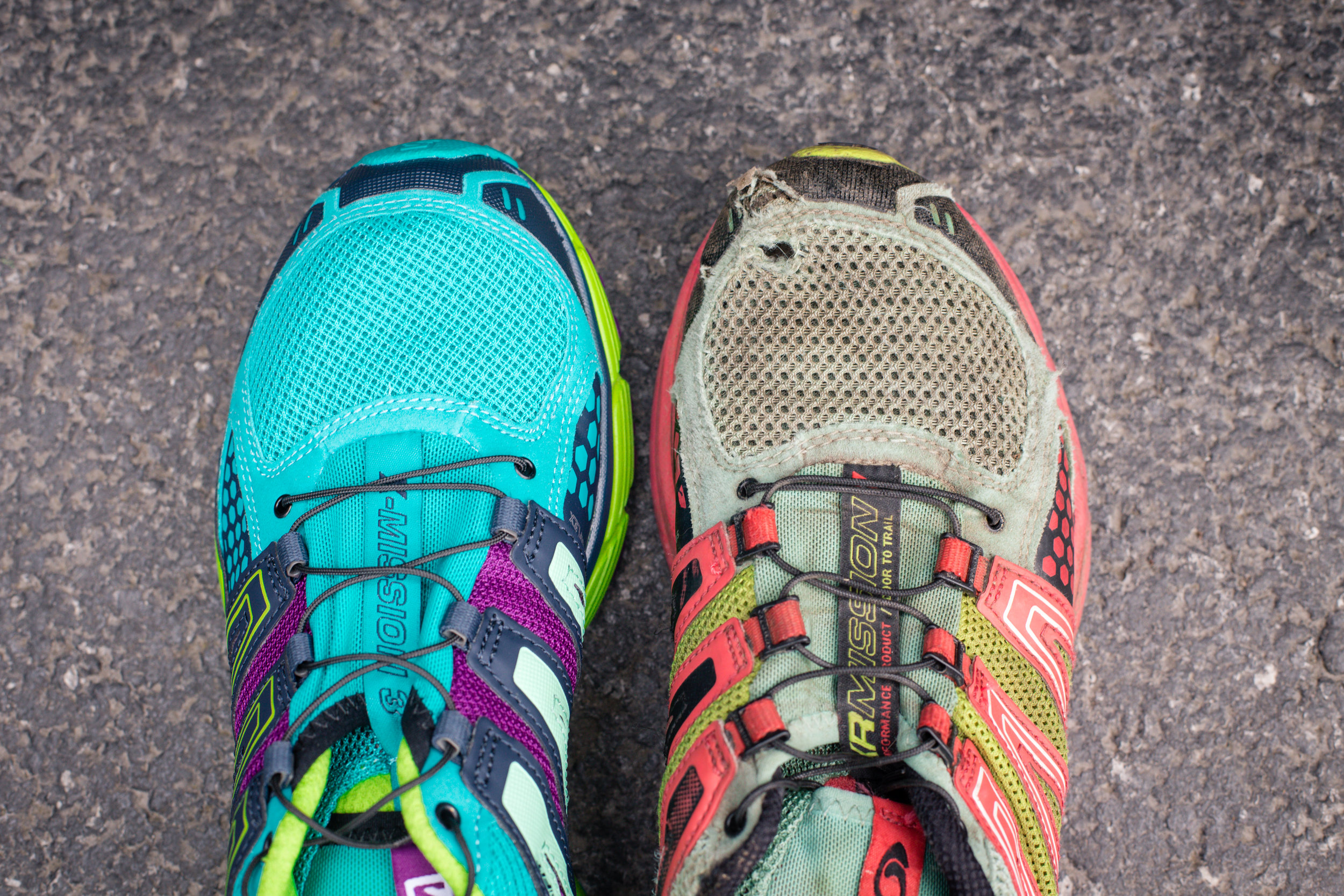 152 // 366 My new and first trail runners