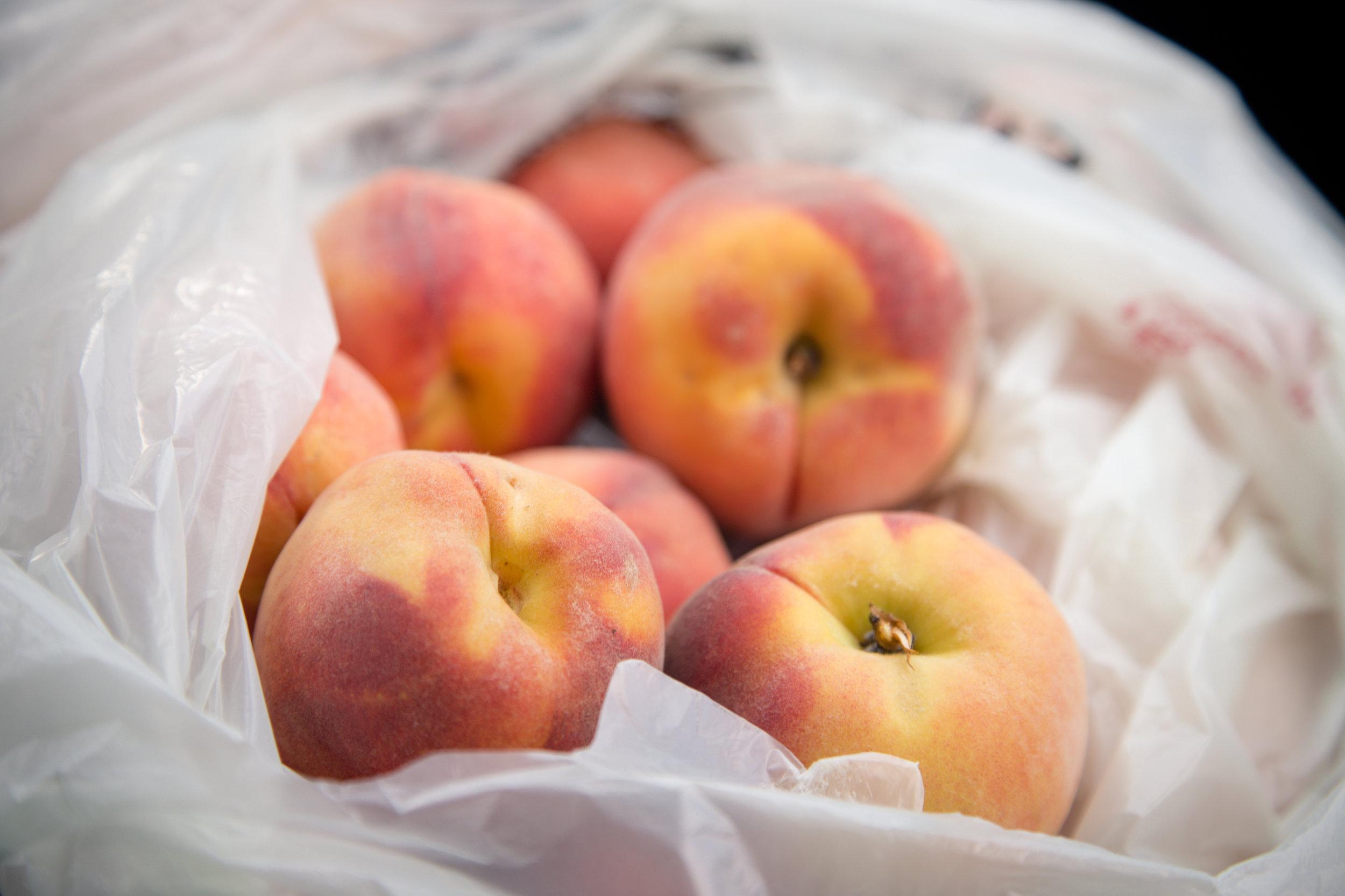 216 // 366 Fresh Belleville peaches!