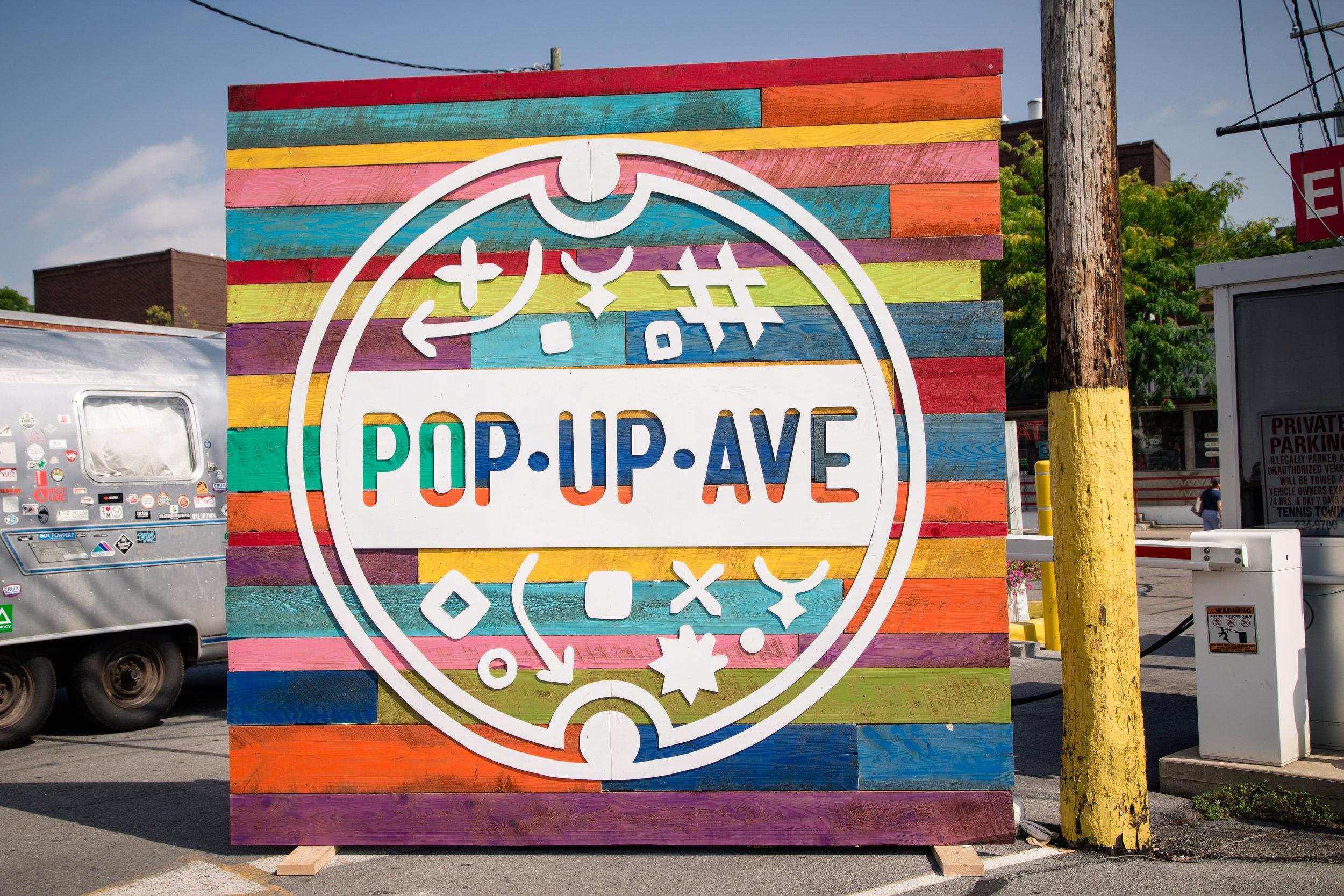 254 // 366 Pop-up flea downtown