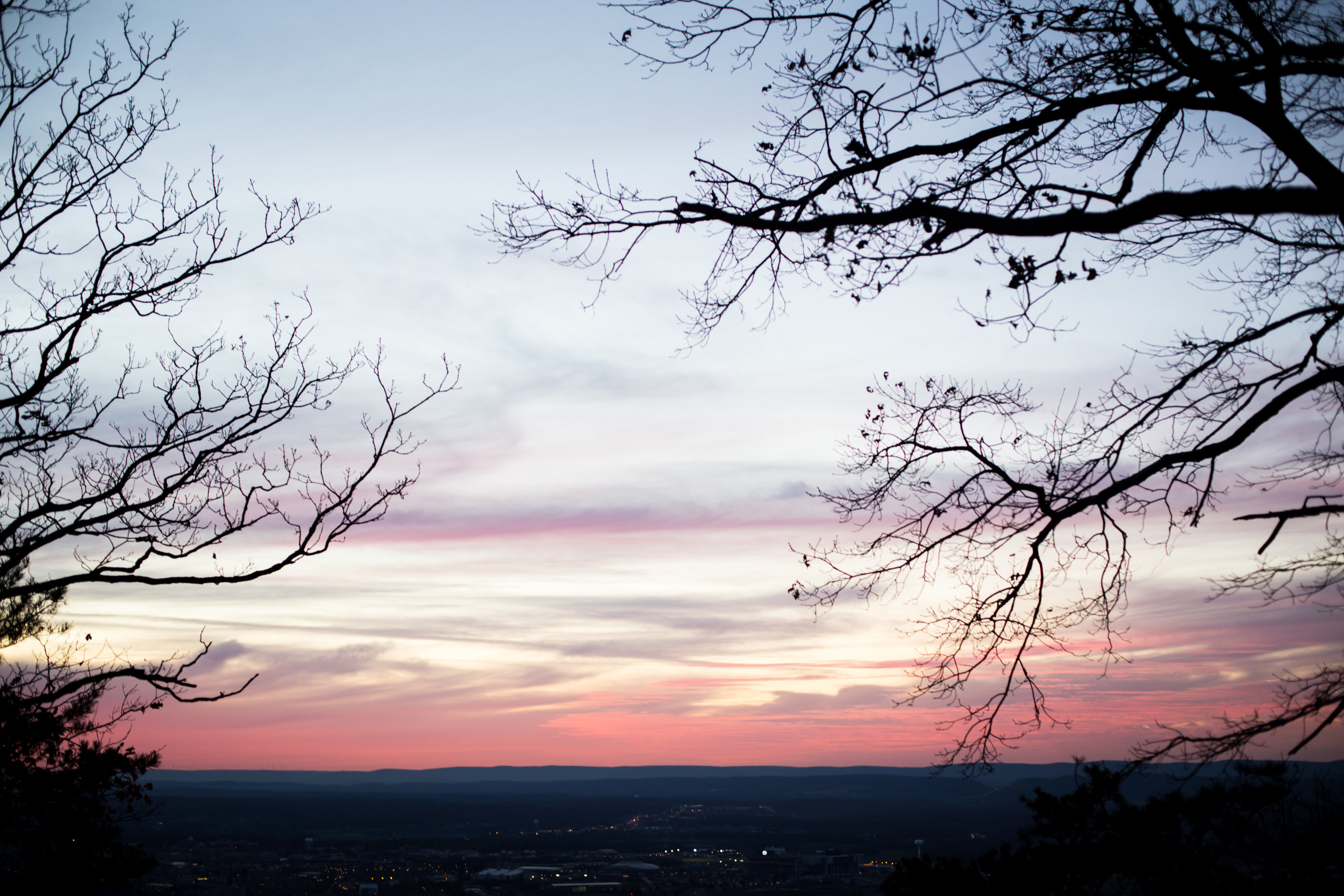 319 // 366 Sunset hike up Mount Nittany