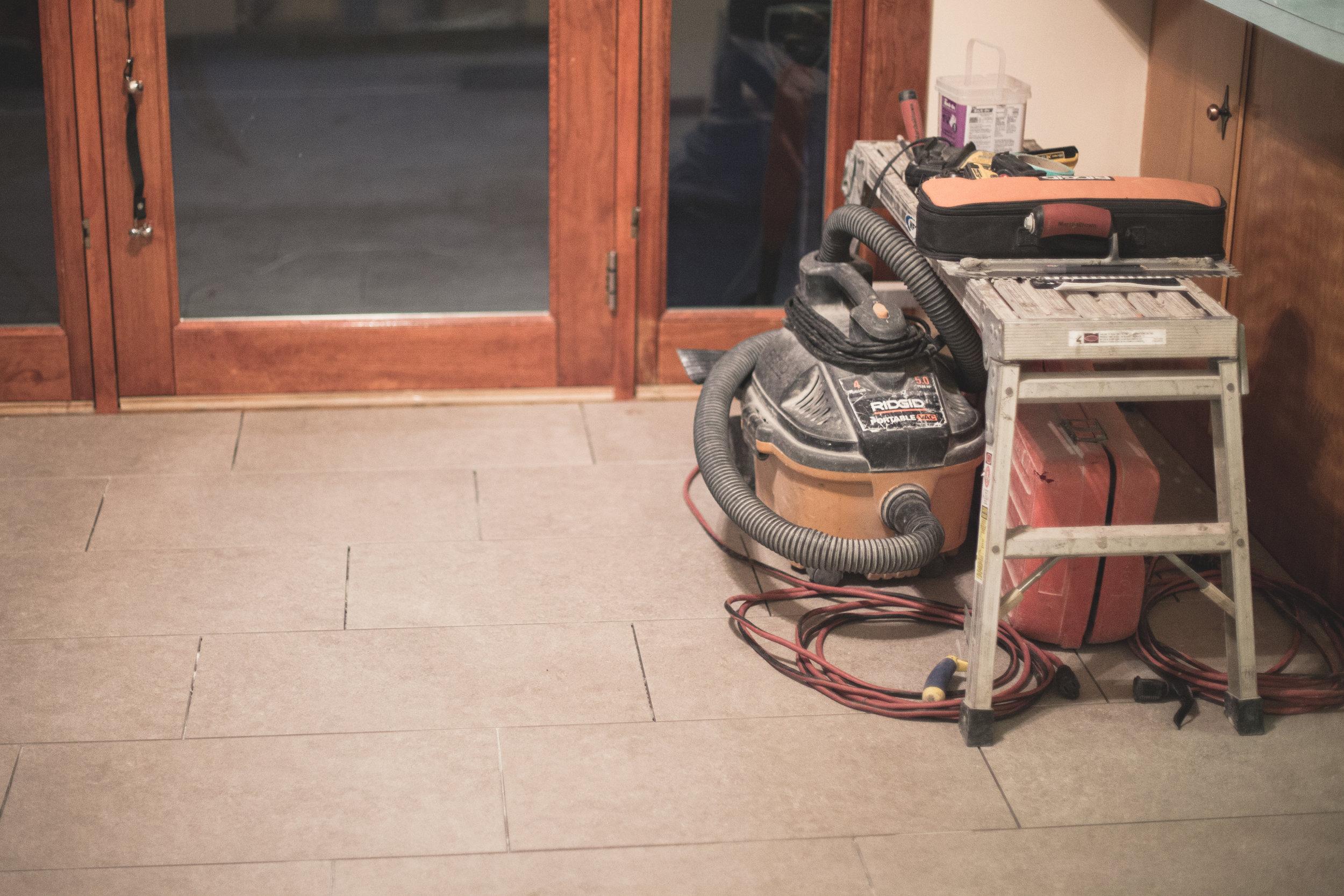 46 // 365 Tile pre-grout