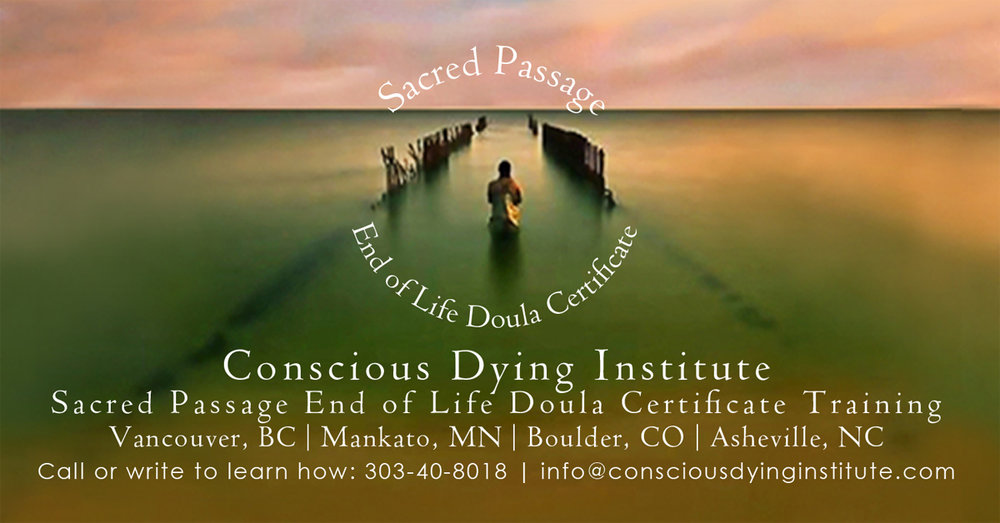 Join Francesca in the upcoming Boulder End of Life Doula Training Beginning August 24th!