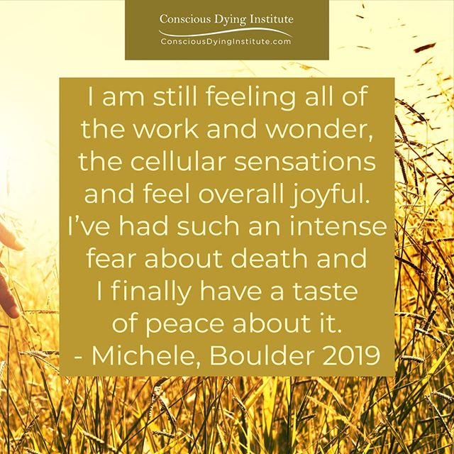 Come and see for yourself what we are all about! #ConsciousDying #TarronEstes #DeathDoula #EndofLife #DeathDoulaTraining #DeathDoulaCertification