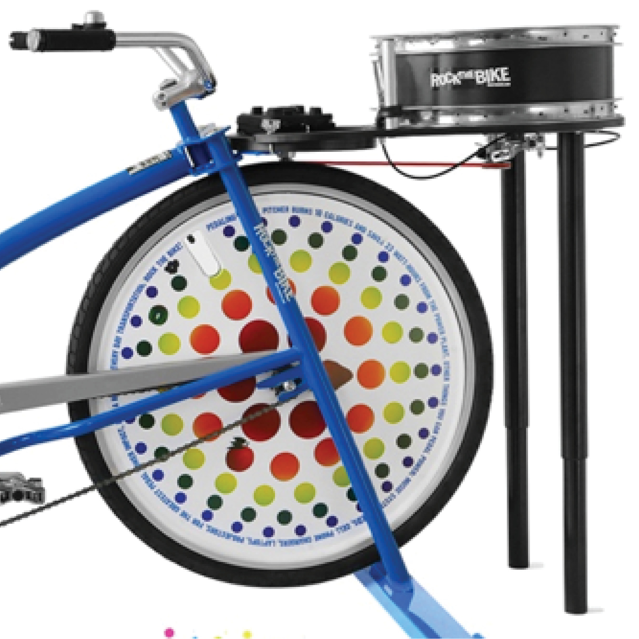 Spin Art Bike Station