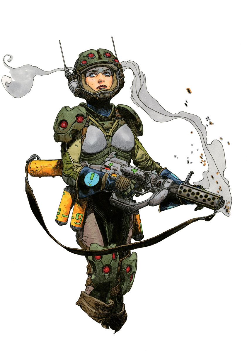 Cadet Delta Sketch / Marker