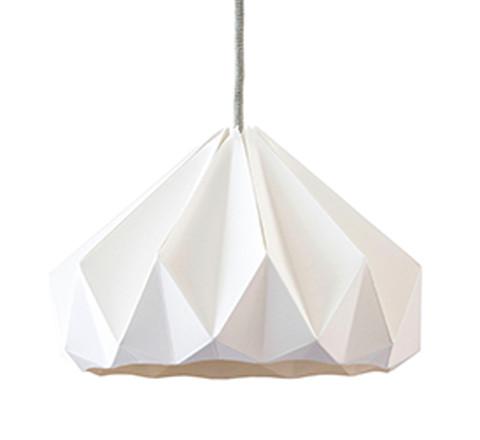 Chestnut Origami Pendant