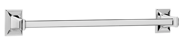 "106A7920-PC Geometric towel bar available in 12"", 18"", 24"" and 30"".  Offered in seven different finishes."