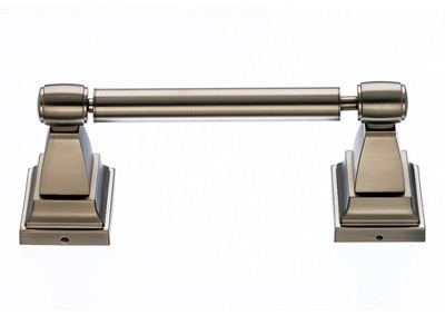 183STK3BB Stratton double post tp holder brushed bronze.  Available in five finishes.
