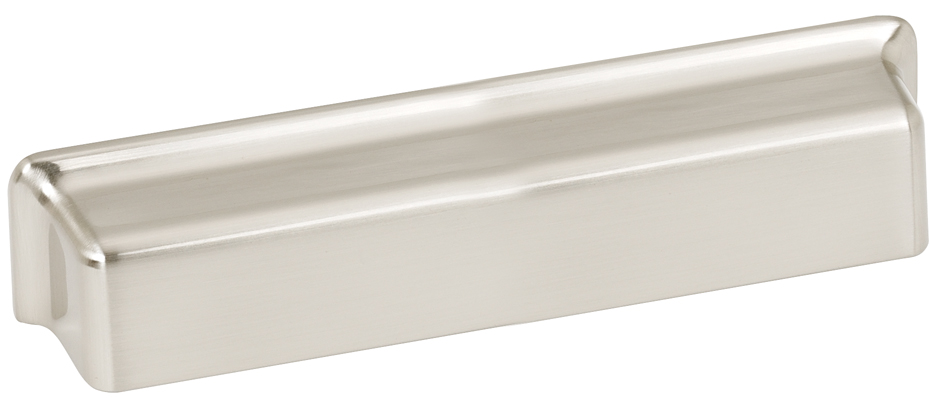 106A952-SN Millennium bin pull 5in ctc shown in satin nickel. Available in two sizes and four finishes.