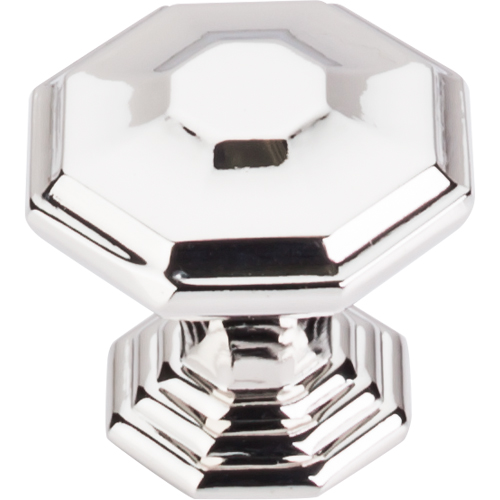 "183TK348PN Chalet knob 1-1/2"" shown in polished nickel. Available in two sizes and four finishes."