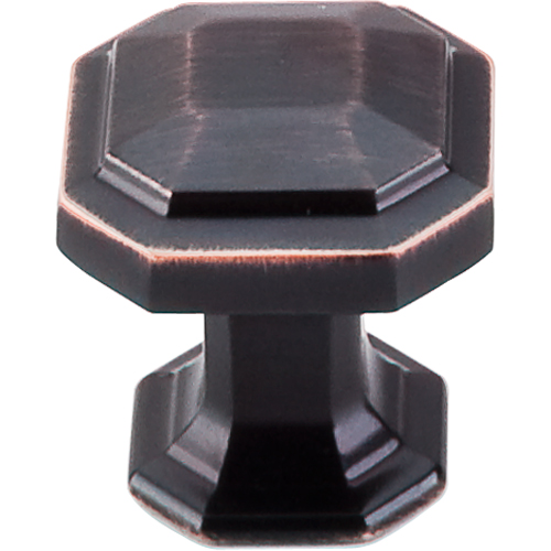 "183TK286TB Emerald knob 1-1/8"" shown in tuscan bronze. Available in four finishes."