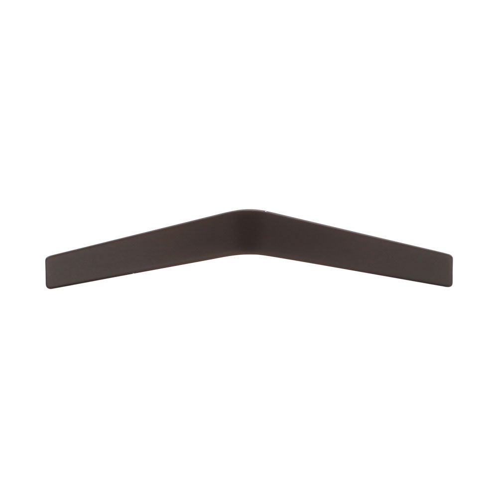 267MC2807-160-FBN Urban angle handle 160mm ctc shown in flat bronze. Other sizes and finishes available.
