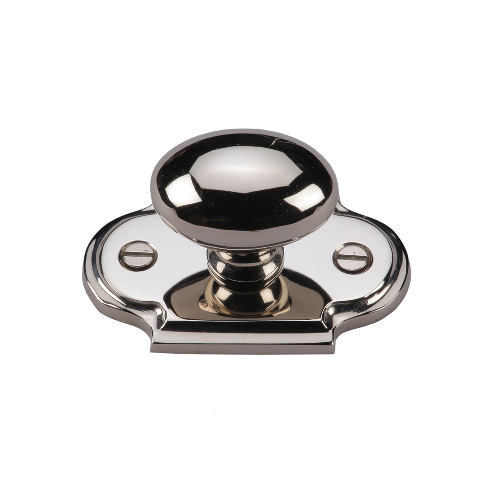 Cabinet Knob Back Plate Rosette Furniture Pull Back Plate Furniture Knob Rosette
