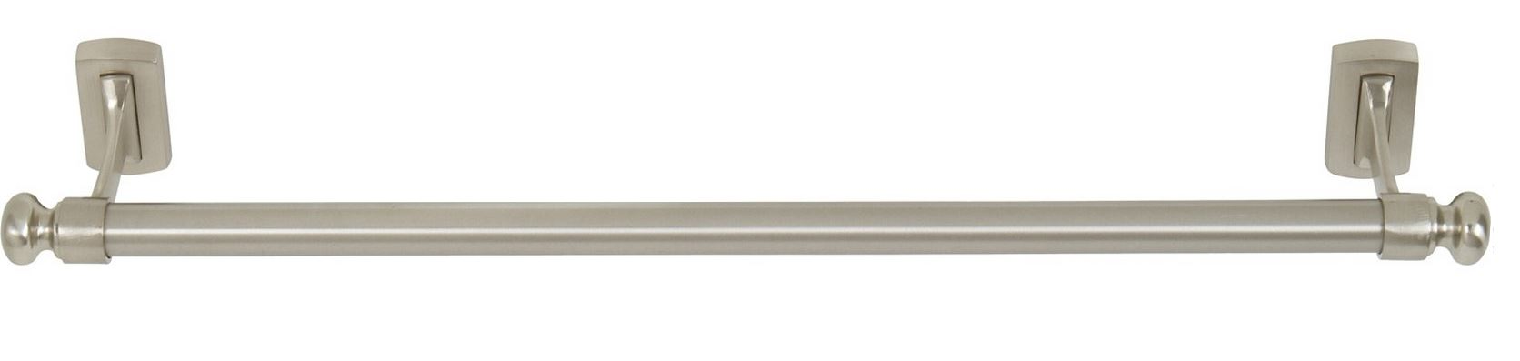 "103LGTB18-BRN Legacy towel bar 18"" shown in brushed nickel. Available in other sizes and finishes."
