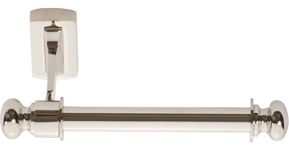 103LGTP-PN Legacy toilet paper holder shown in polished nickel.  Available in other finishes.