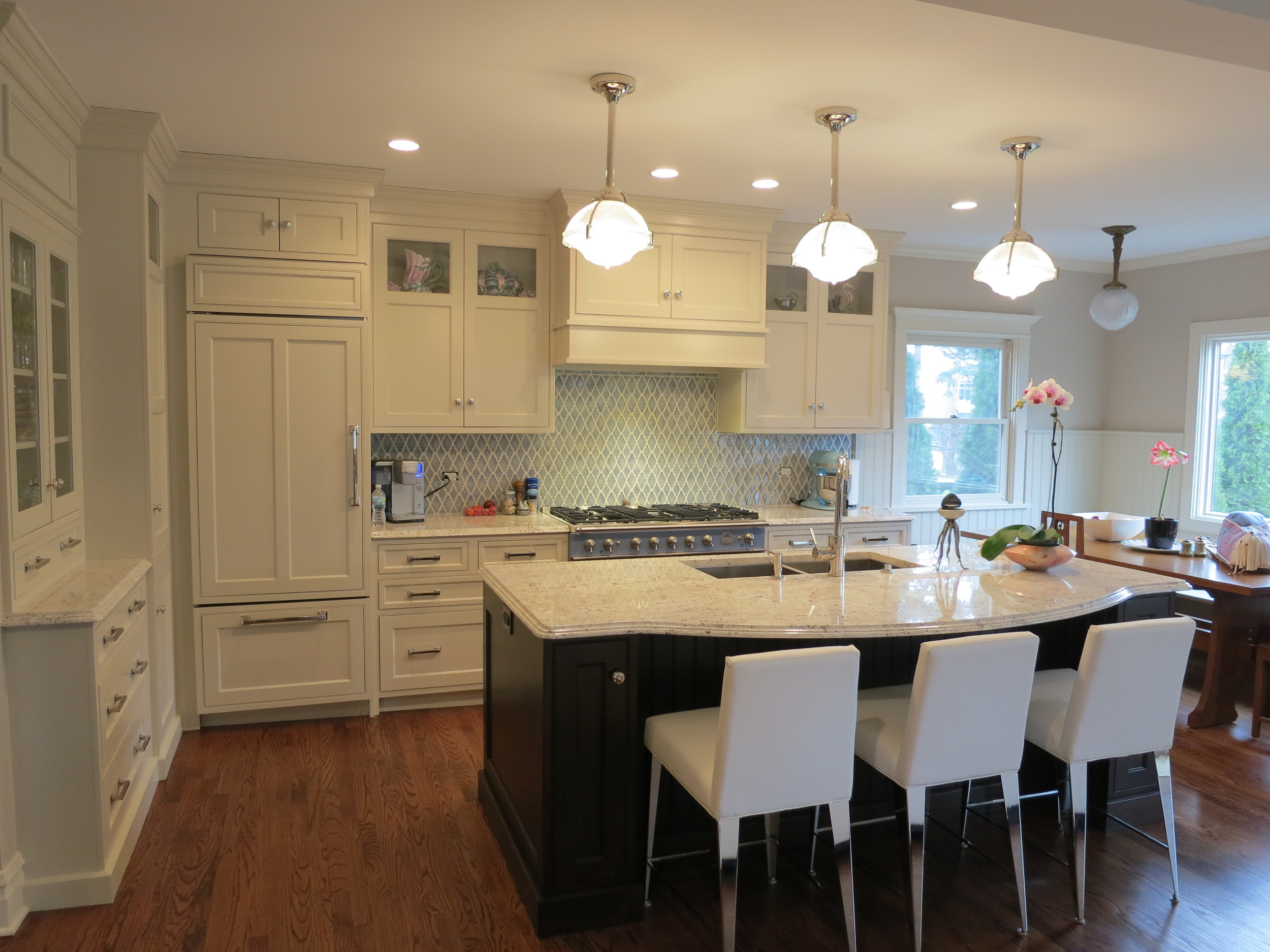 Wilmette remodel by Chester & Chester