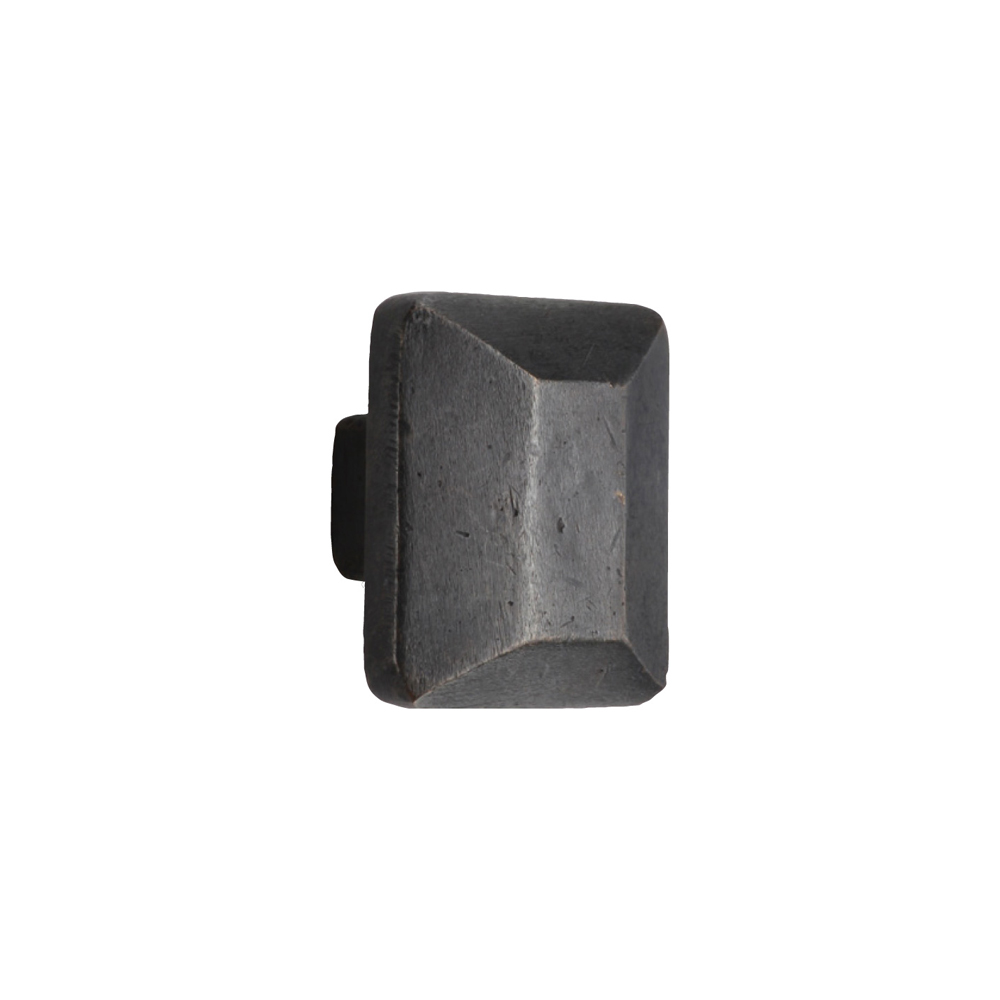 "2673625.1-1/4-BZ Trapezoidal knob 1-1/4"" shown in dark bronze available in three finishes."