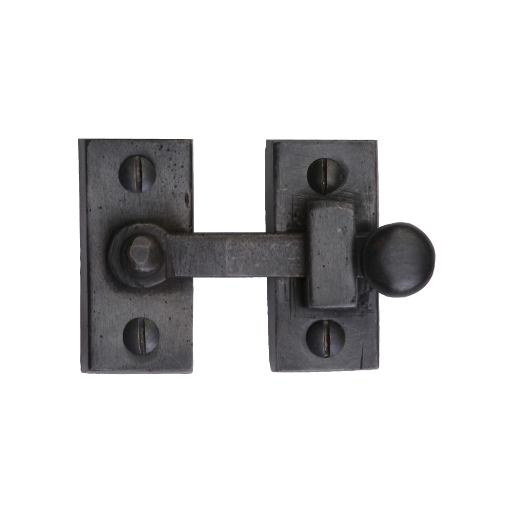 "2671257-BZ Showcase fastener 1"" x 2"" shown in dark bronze. Available in three finishes."