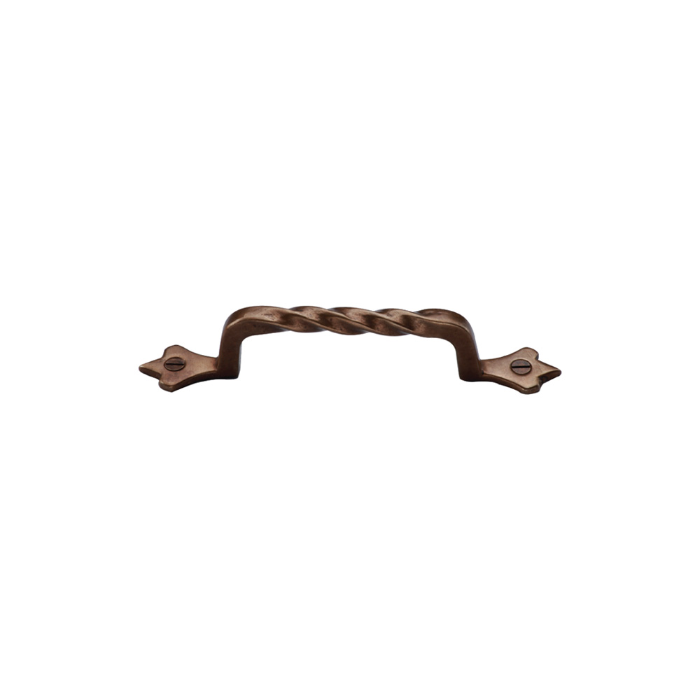 "267370.5-5/8-LT Twist handle front mount 5-5/8"" overall shown in light bronze. Available in several sizes and finishes."