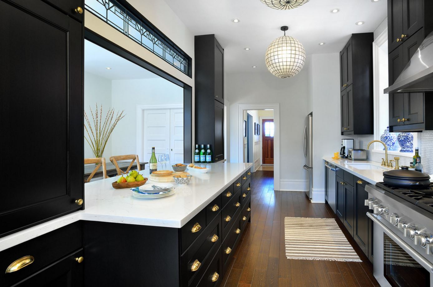 Unlacquered brass kitchen.JPG
