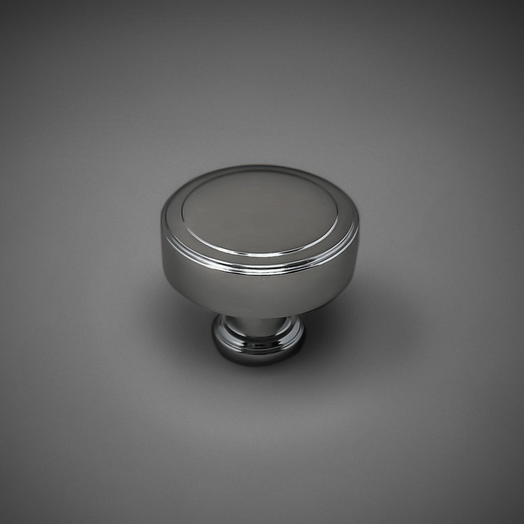 "245CK200-PC Tiered knob 1-1/4"" polished chrome. Additional sizes and finishes available."