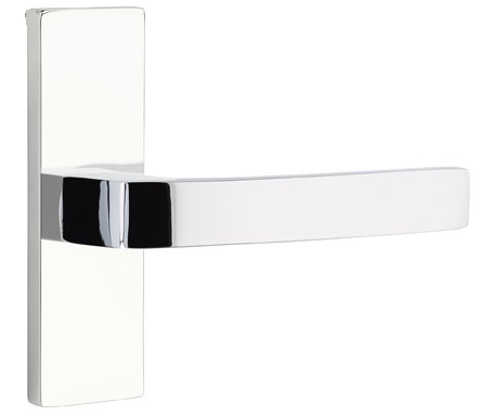 1295507.BRL.US26 Breslin lever narrow Stretto plate. Shown in polished chrome, many finishes available.