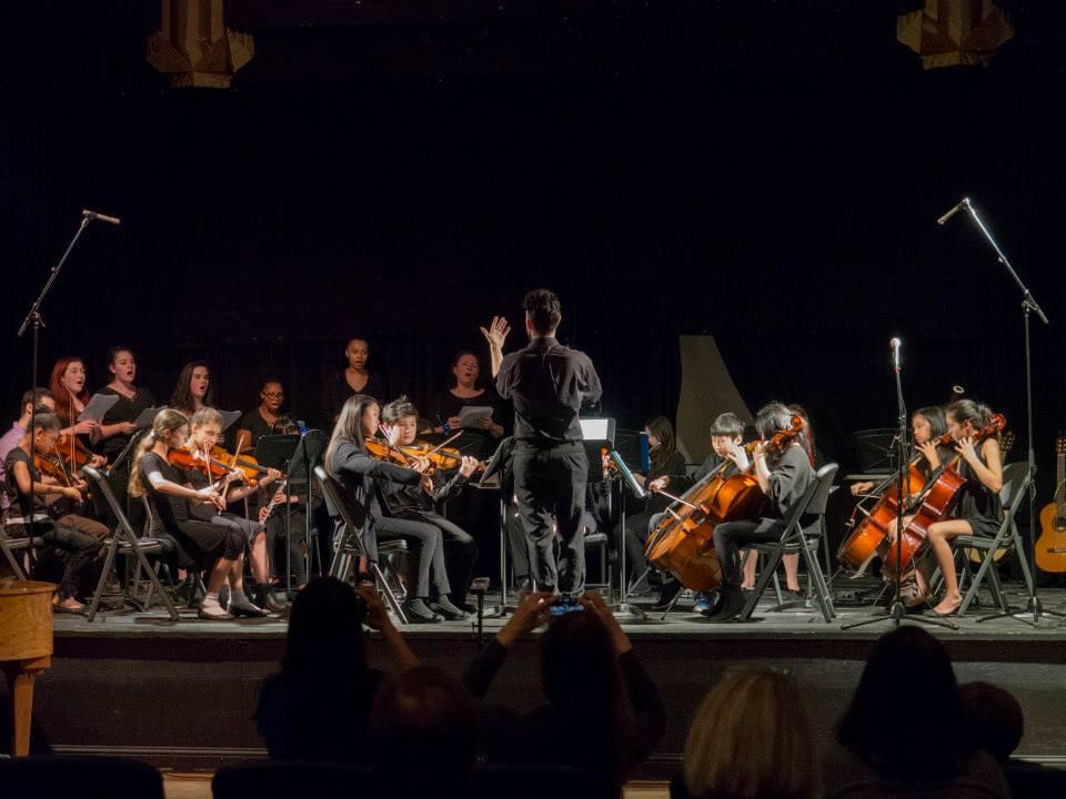 Oakland School for the Arts - Instrumental School