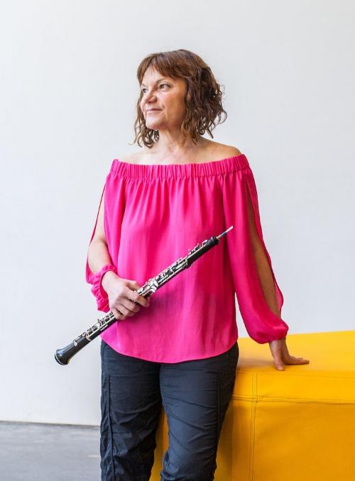 Andrea Plesnarski. Photo: Vivian Sachs