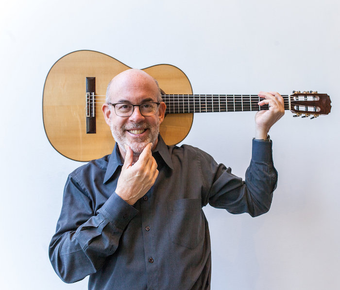 Michael Goldberg, guitar. Photo: Vivian Sachs