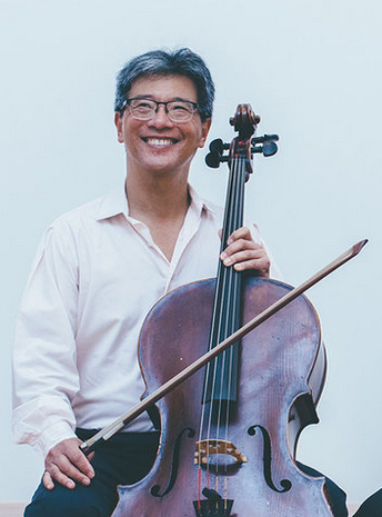 Cellist Leighton Fong Photo: Vivian Sachs