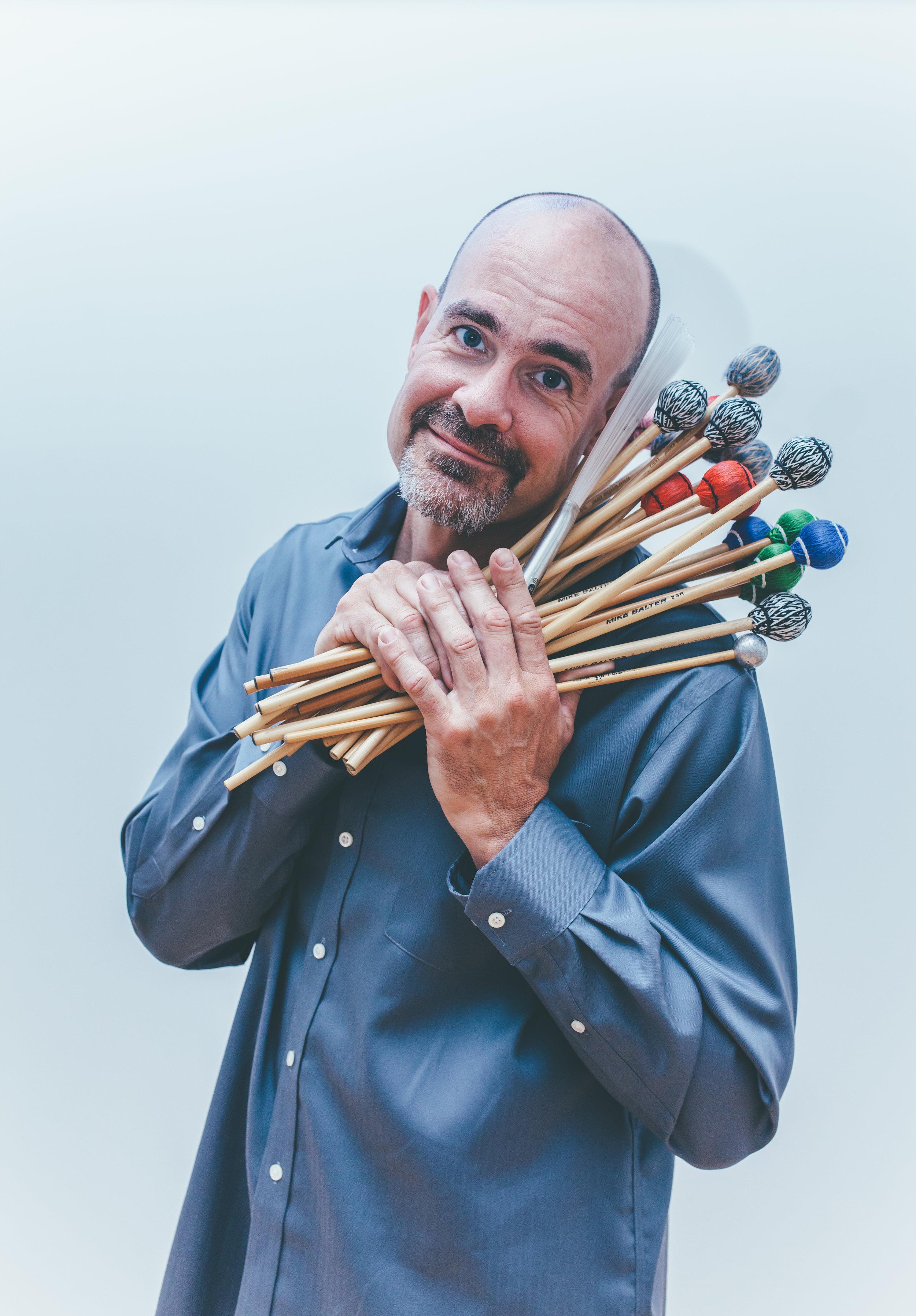 Loren Mach, percussion