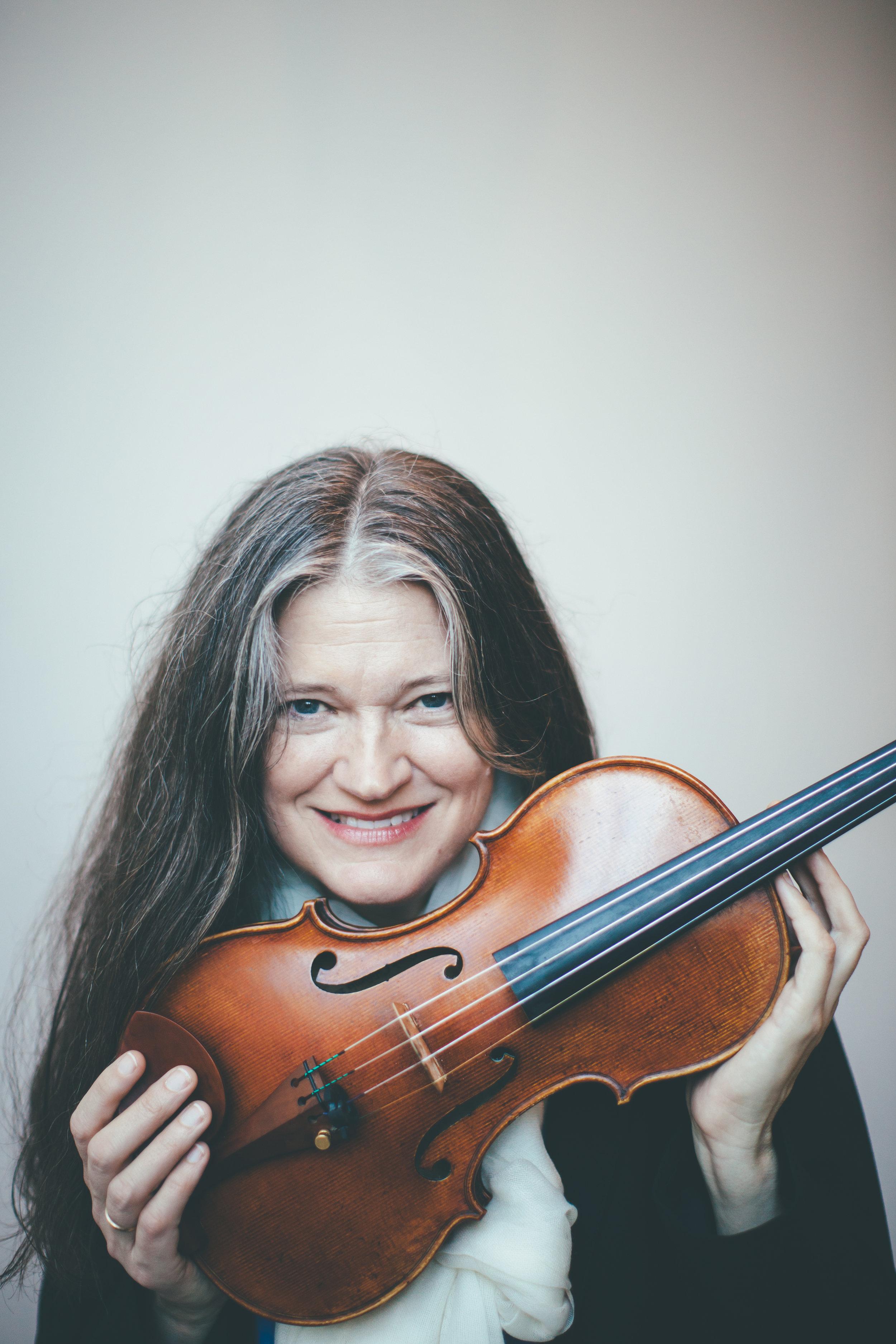 Anna Presler, artistic director, violin