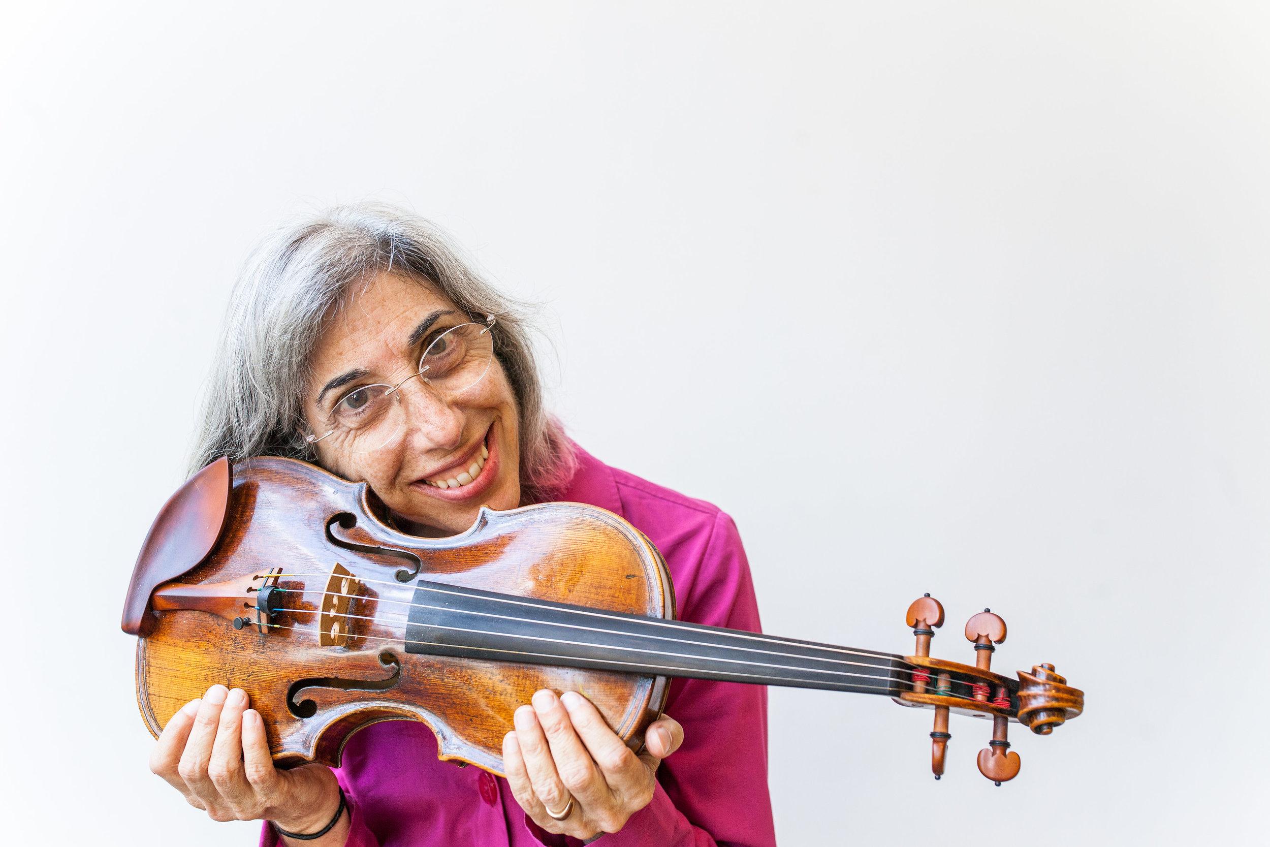 Phyllis Kamrin violin, viola
