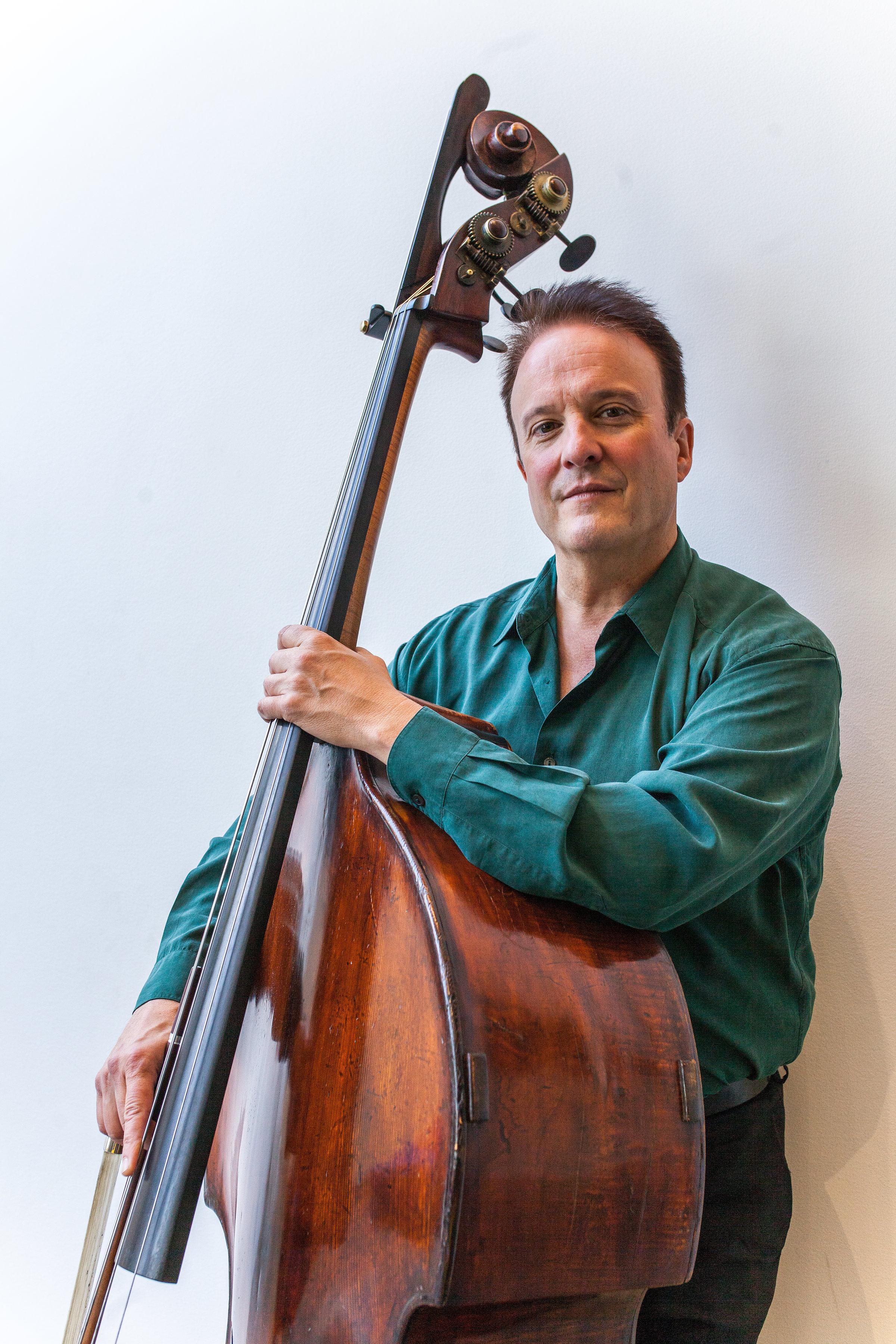 Michel Taddei, double bass
