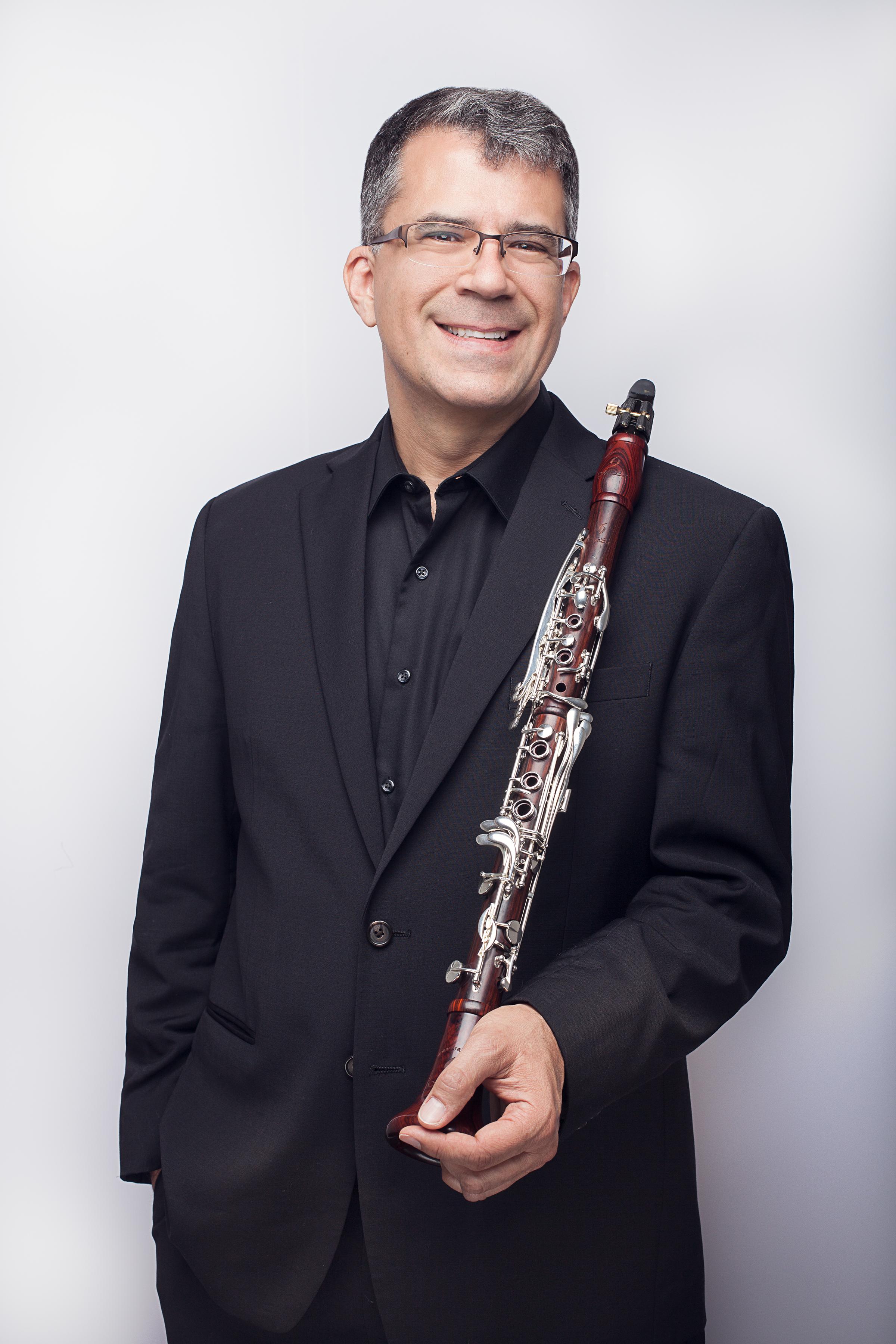 Jerome Simas, clarinet