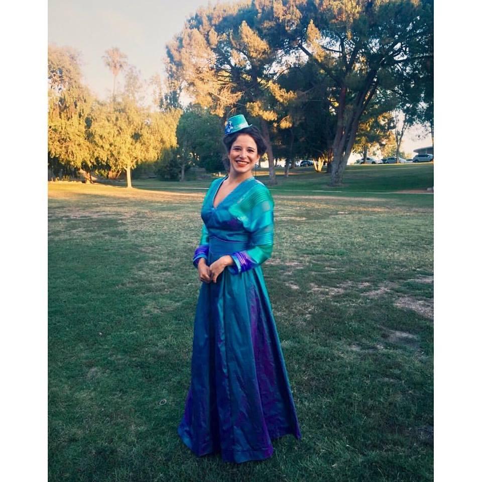 Rosaline in Loves Labours Lost at Kingsmen Shakespeare Festival 2017