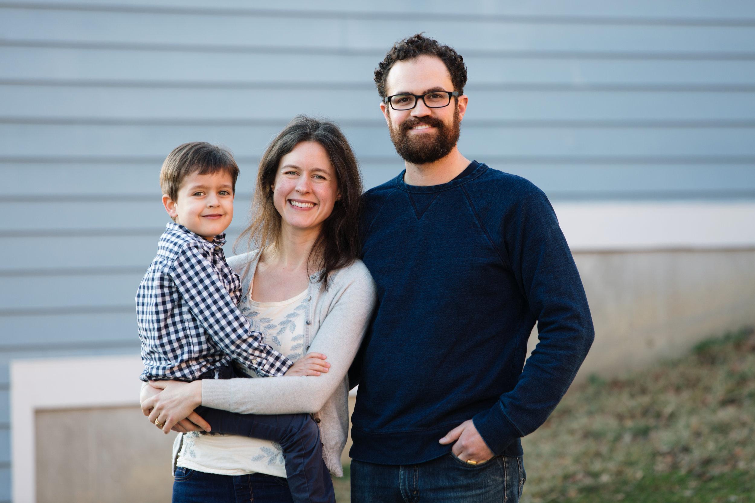 Susannah Tisue, Michael and Theo Miritello