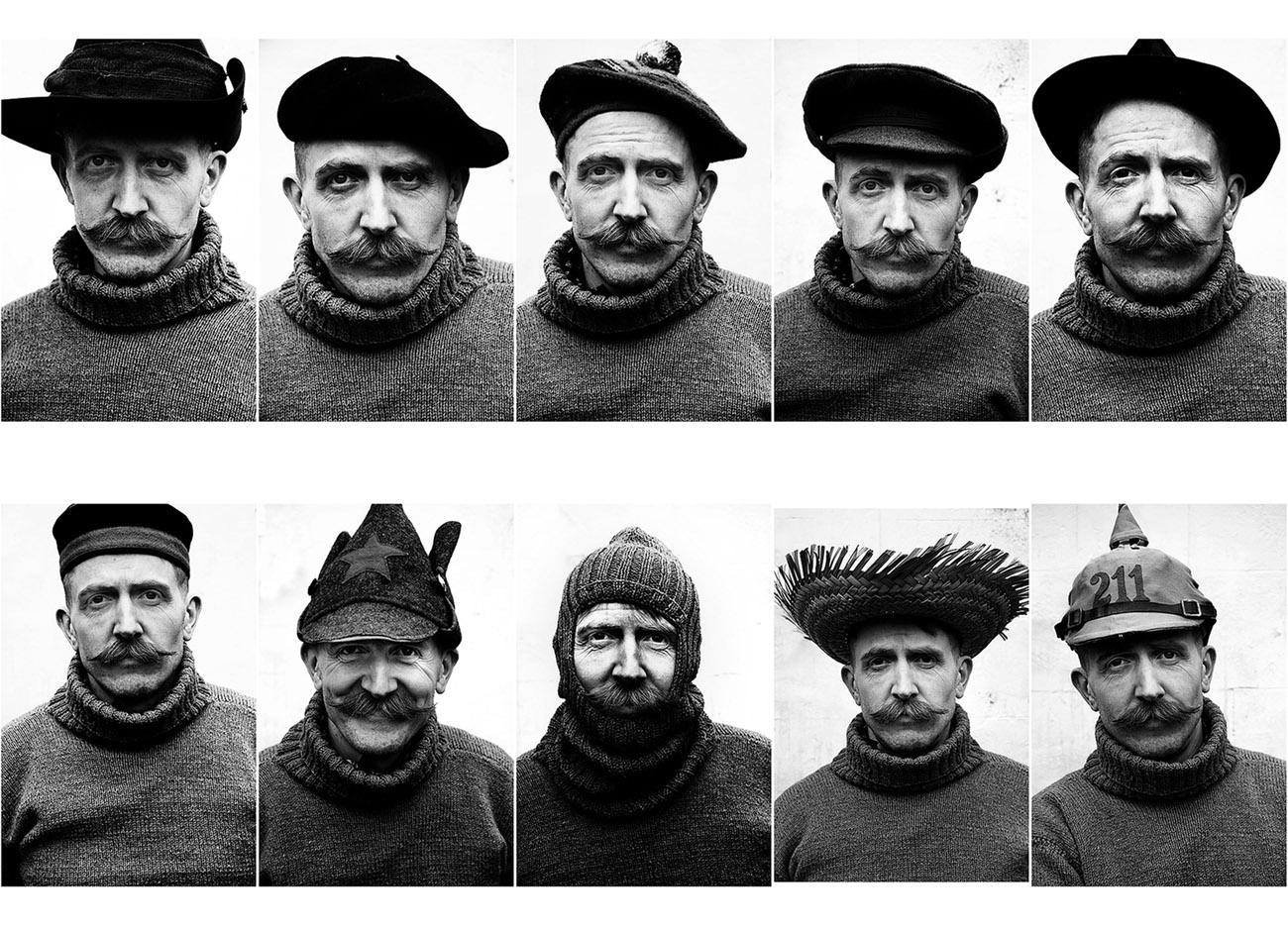 The many hats of Billy Childish by Brian David Stevens
